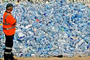 The problem with bottled water is...