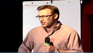 Simon Sinek talking about the 'Golden Circle' - how to define your business USP