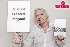 Sir Richard Branson is very clear about his missions!