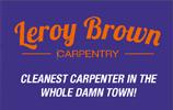 Leroy Brown Carpentry