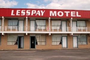 Lesspay Motel *Image courtesy of Mary via Wikimedia Commons