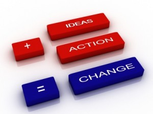 Develop your ideas and take action!