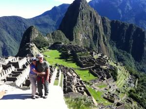 We made it! The Inca Trail to Machu Picchu in Peru.