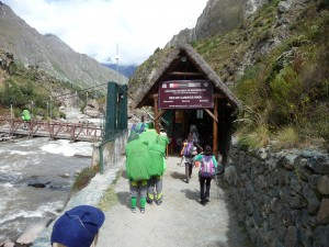 The porters carry 25kgs each