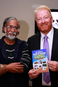 Suresh Rajan with Tony Inman
