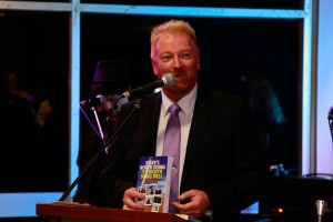 Tony Inman launched his latest book