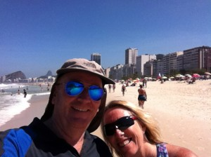 We actually would have loved to stay longer at Copacabana!