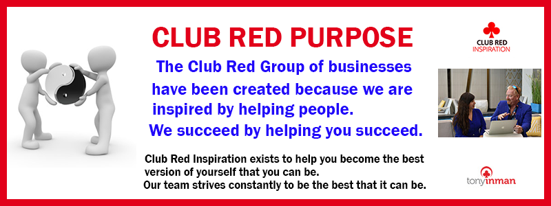 Philosophy - The purpose statement of Club Red is about helping people through business and personal growth