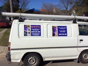 Leroy Brown's van