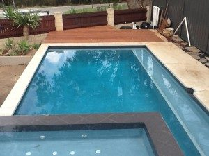 Pool decking by Leroy Brown Carpentry