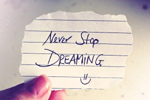 Never stop dreaming - especially of a free holiday