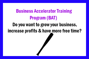 Business accelerator training & mentoring to help you grow your business