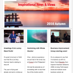 Club Red Inspiration Newsletter - Autumn 2016