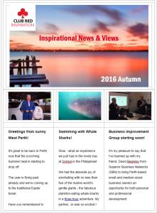 Club Red Newsletter-2016 Autumn