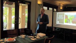 Tony Inman Presenting on Self-Talk