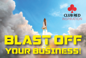 Blast off your business with a workshop from Club Red Inspiration