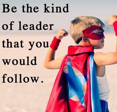 Be the kind of leader others want to follow - that's a Club Red philosophy