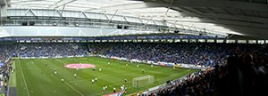 Leicester's home ground is now the home of the English Champions