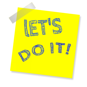 Business and Life Coach Tony Inman says 'Let's Do It!'