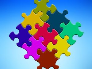 In business you have to assemble all the pieces of the puzzle together
