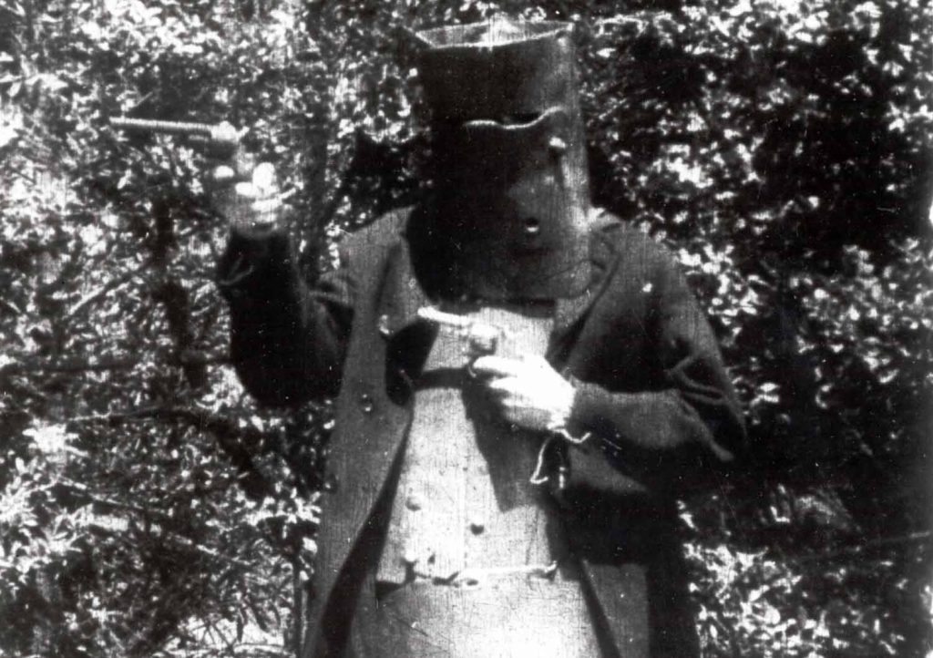 Ned Kelly didn't leave me hanging!