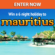 Here's your chance to win a free holiday to Mauritius