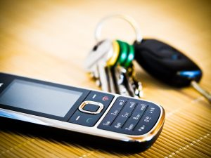 Planning tip - keep your phone and keys together