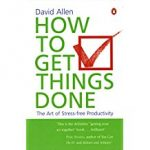 Tony's Top Business Leadership and Management Books include 'How to Get Things Done' by David Allen