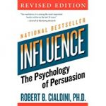 Tony's Top Self-help books include 'Influence' by Robert Cialdini