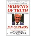 Tony's Top Business Leadership and Management Books include 'Moments of Truth' by Jan Carlzon