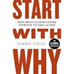 Tony's Top Business Leadership and Management Books include 'Start with Why' by Simon Sinek