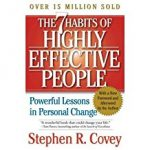 Tony's Top Business Leadership and Management Books include 'The 7 Habits of Highly Effective People' by Stephen Covey