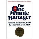 Tony's Top Business Leadership and Management Books include 'The One-Minute Manager' by Ken Blanchard & Spencer Johnson