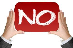 rejection in business - don't take it personally